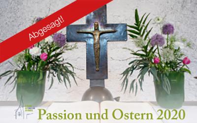 Passionsandachten 2020 –ABGESAGT