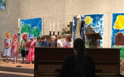 Malen für den Kindergottesdienst